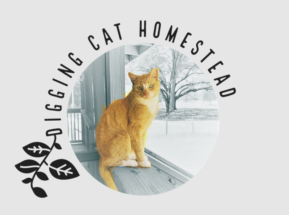 Digging Cat Homestead Logo
